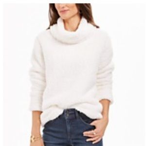 NWT Macy's Cowl Neck Sherpa Pullover